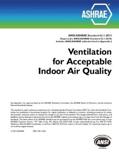 ASHRAE ^2.1 Indoor Air Quality Solutions IAQS